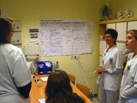 ochtendoverleg afdeling neurologie