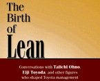 "Deel voorkaft ""The Birth of Lean"""