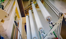 Dit folierol-systeem verviervoudigde de productie