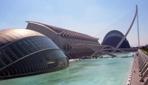 Stad van Kunsten en Wetenschappen in Valencia