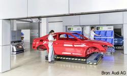 Tests met smart productie bij Audi